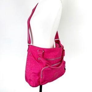 Kipling Noelle Crossbody Bag Hot Pink